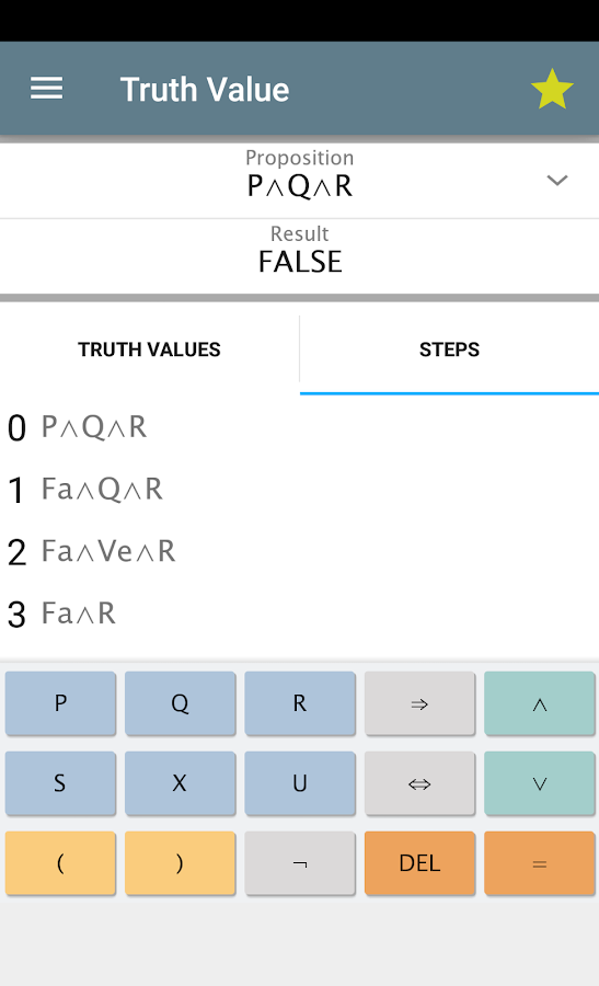 Logic Calculator Free 41 Apk Download Android Education Apps
