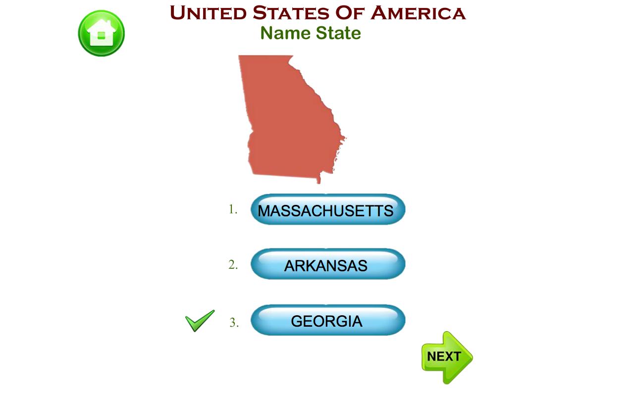 United States of America Map Puzzles Quiz History 1.1.6 APK ...