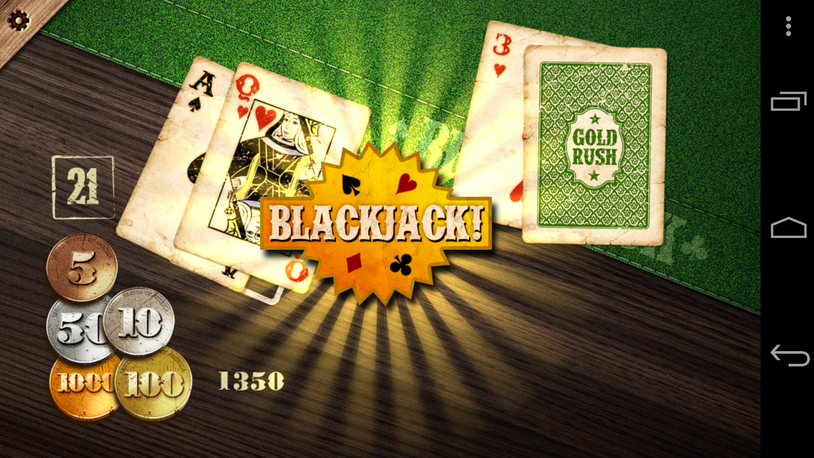 Master blackjack