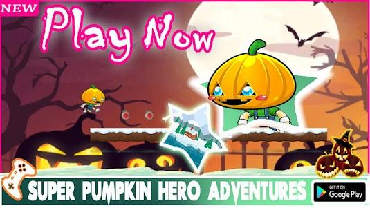 Super Pumpkin Hero Adventures 2.0.0 screenshot 1