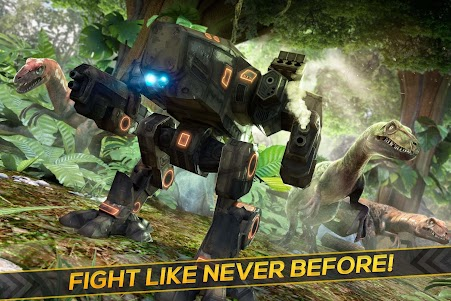 Dino-Robot! Future War 3D Game 1.0.0 screenshot 1