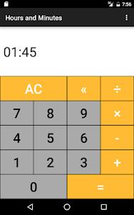 Hours & Minutes Calculator 1.3 screenshot 10