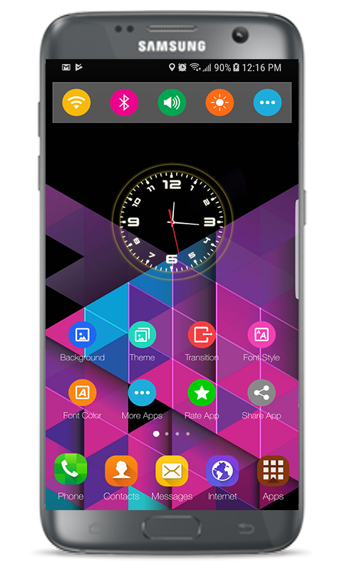 Launcher Xiaomi Mi Mix 3 Theme 1 0 0 APK Download - Android