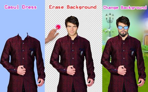 Men Shirt With Tie Photo Suit Maker 1.0.9 screenshot 22