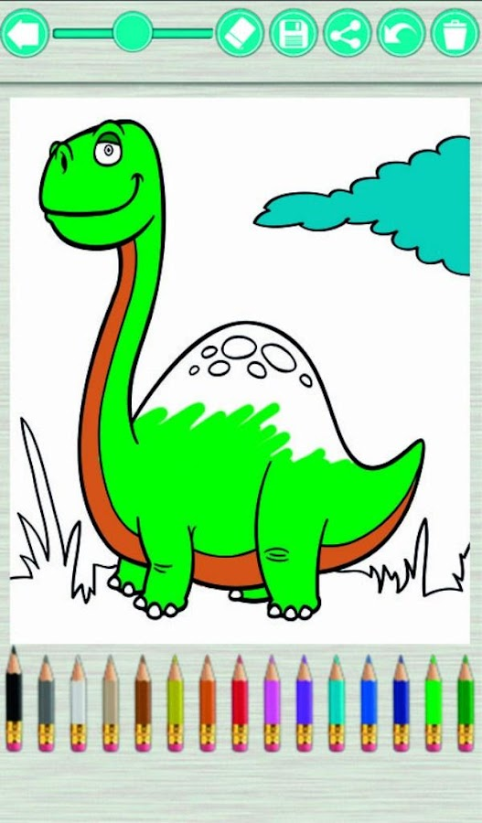 Dinosaurs Coloring Book 3101 Screenshot 4