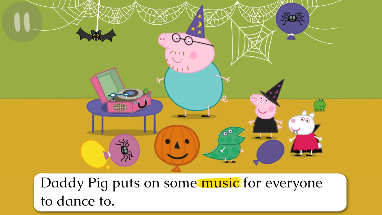 Peppa Pig Book Pumpkin Party 16 Apk Download Android Books Peppas First Sleepover Screenshot 5