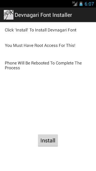 Devanagari Font Installer 1 3 APK Download - Android Tools Apps