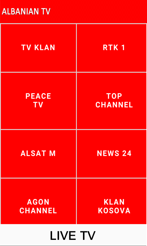 Albanian Tv Live 100 Apk Download Android мультимедиа и видео