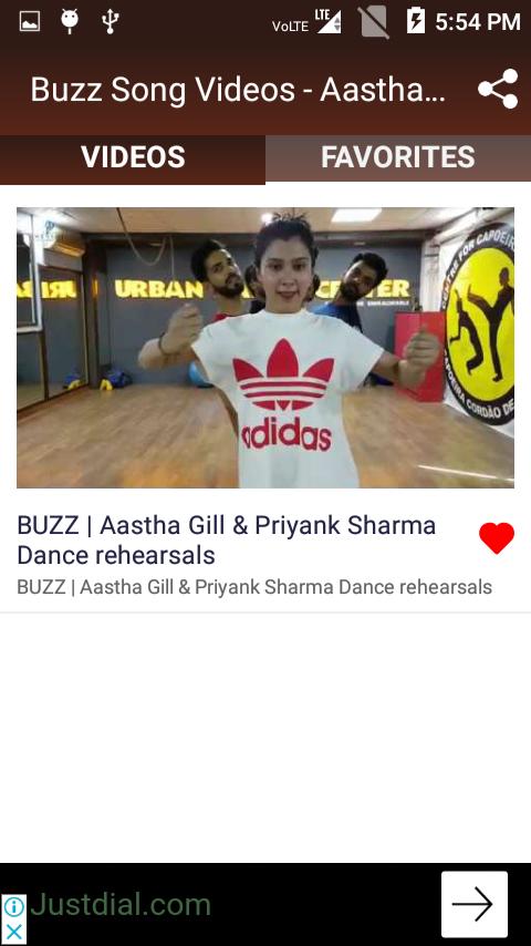 Buzz Song Videos - Aastha Gill Song, Badshah Song 1 4 6 APK