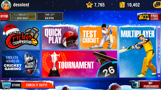 World Cricket Championship 2 - WCC2 2.8.8.5 screenshot 1