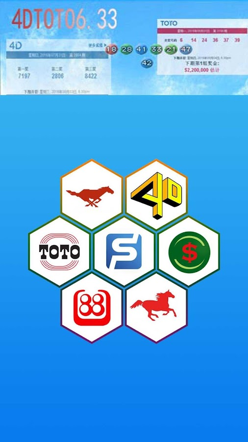 4D,Toto Results @6 33 (Sg &My) 2 5 3 APK Download - Android News