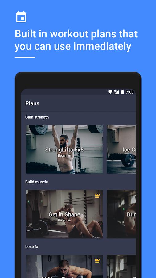 daily strength weight training workout planner 1221 screenshot 5
