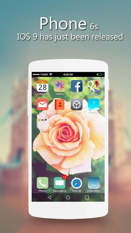 iphone 6s launcher pro apk