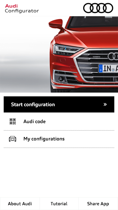 Audi Configurator Uk 3 0 Apk Download Android Lifestyle Apps