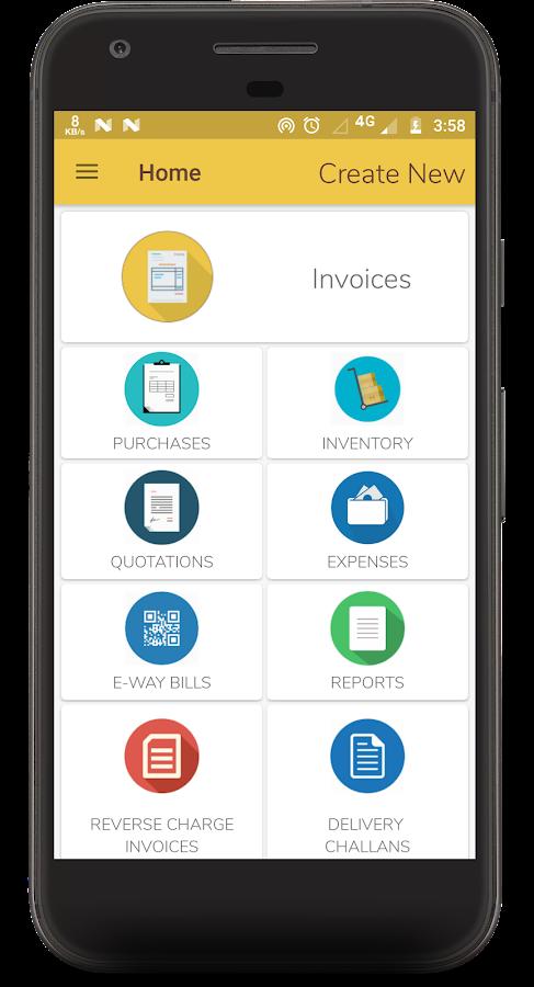 Easy Invoice Manager App by www gimbooks com 1 0184 APK