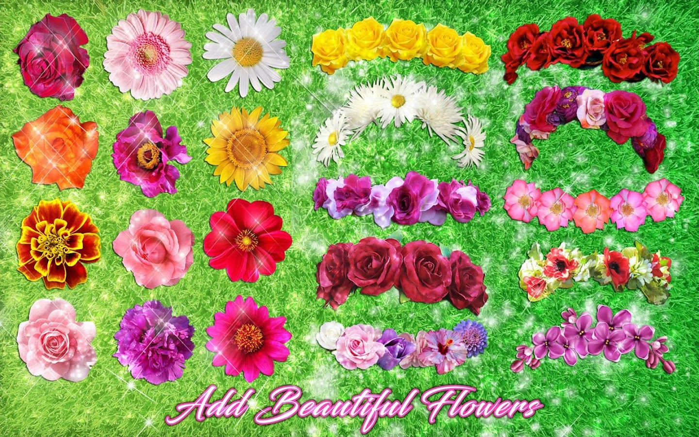 Flower Crown Photo Editor Filters For Selfies 18 Apk Download