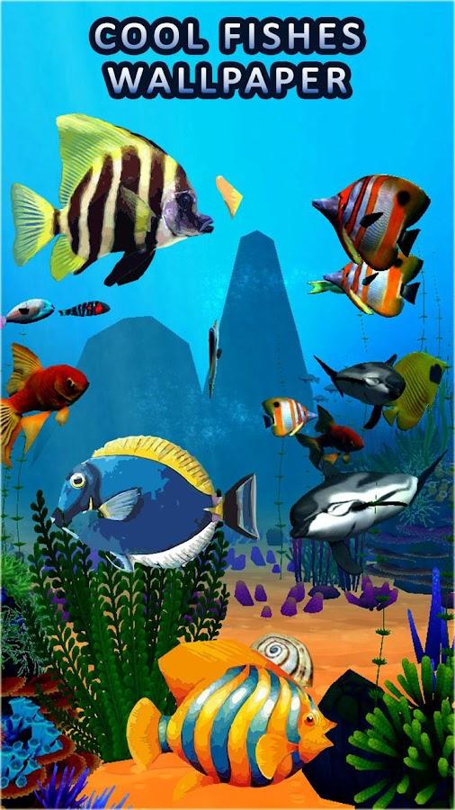 3d live fish wallpaper free download