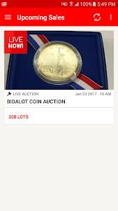 BidALot Coin Auction 1.0 screenshot 1