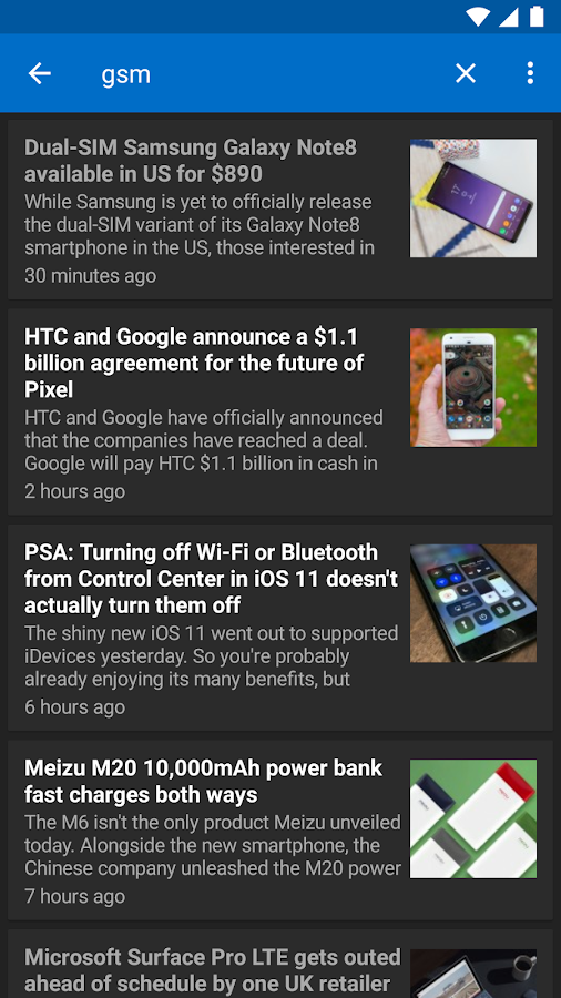 GSMArena App - Latest Tech News 2 3 APK Download - Android News