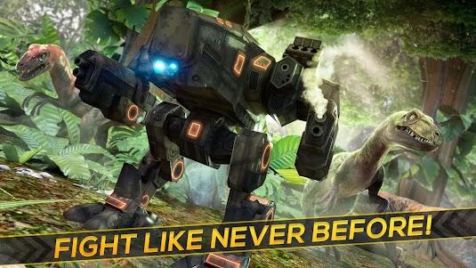 Dino-Robot! Future War 3D Game 1.0.0 screenshot 7