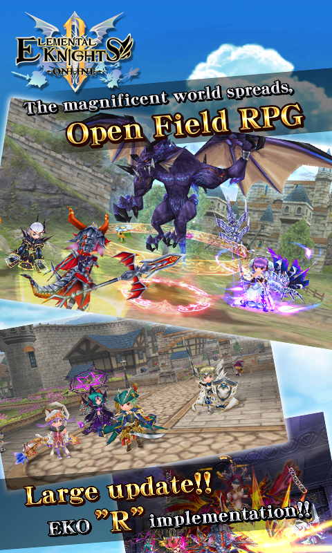 RPG Elemental Knights R (MMO) 4 3 7 APK Download - Android