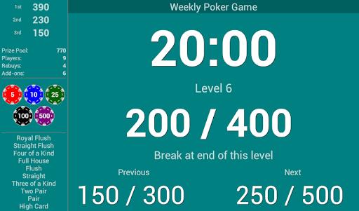 BlindsAreUp! Poker Timer free 2.1 screenshot 6