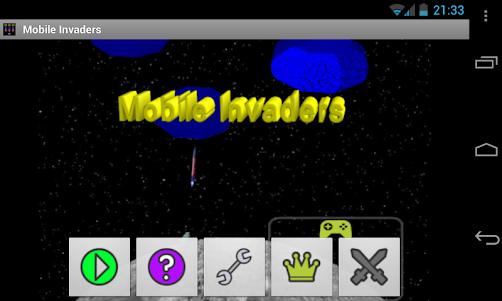 Mobile Invaders 2.4.12 screenshot 1