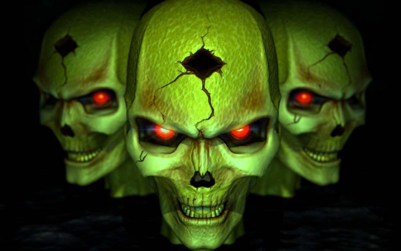 Horror Hd Wallpapers For Android: 3D Horror Skull HD Wallpapers 1.0 APK Download