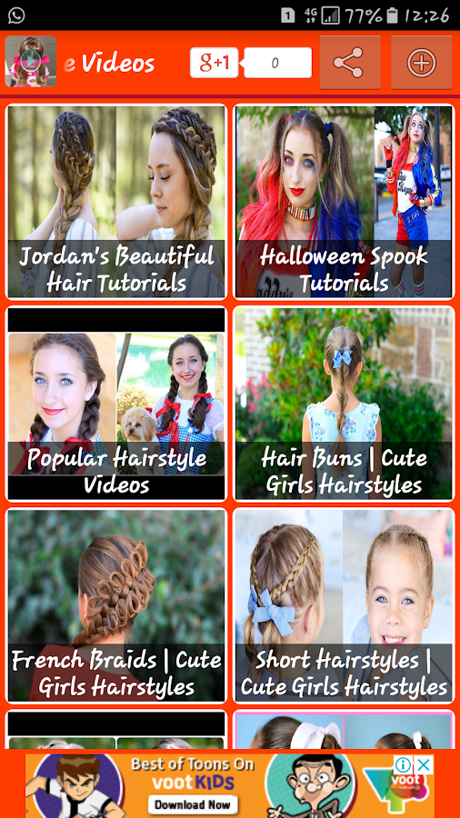 Latest Hairstyle Video Tutorial 10 Apk Download Android Lifestyle