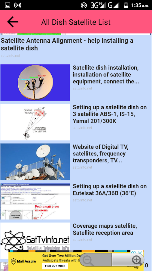 All Dish Channel Info PowerVu Biss Key & Frequency 1 1 APK