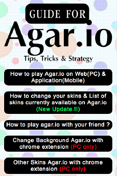 guide for agar io to pro 1 9 apk download android books