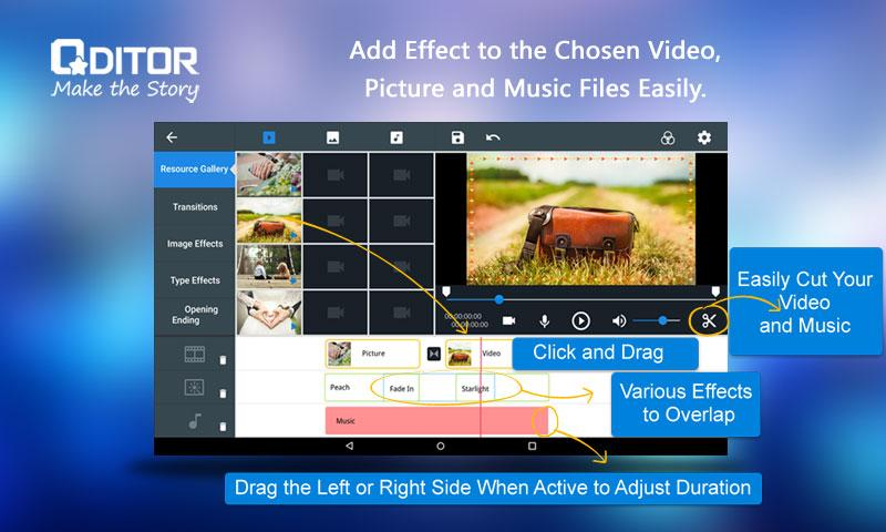 Qditor - best video editor 1 1 5 APK Download - Android cats