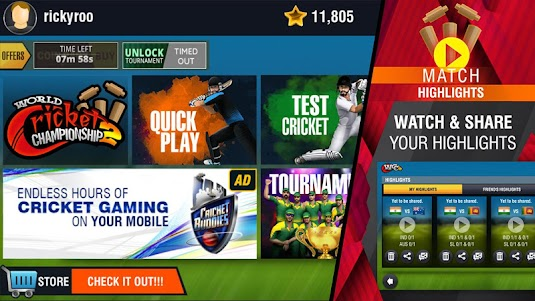 World Cricket Championship 2 2.8.3.1 screenshot 15