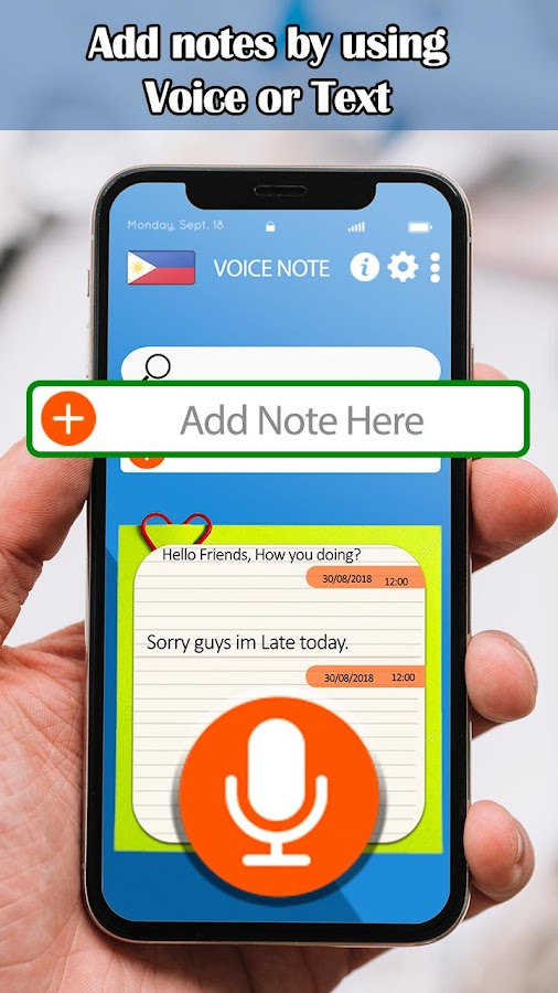 Tagalog Speech notes – Voice Notes 1 0 APK Download