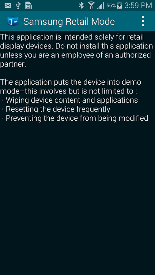 SAMSUNG RETAIL MODE LITE 4 2 20150113 APK Download - Android