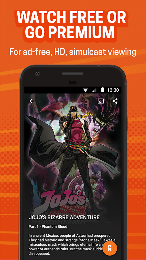 Crunchyroll APK Download - Android Entertainment Apps