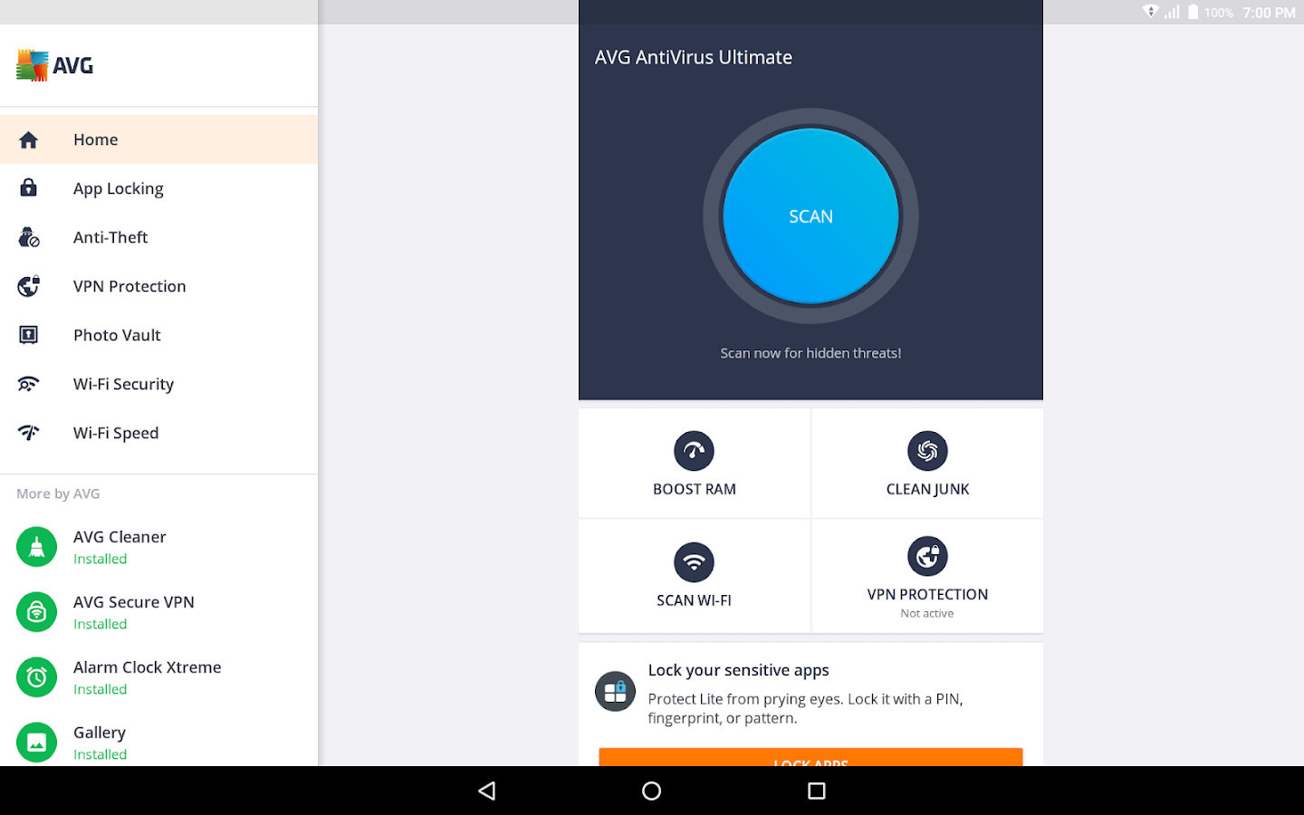 antivirus for android phone free download apk