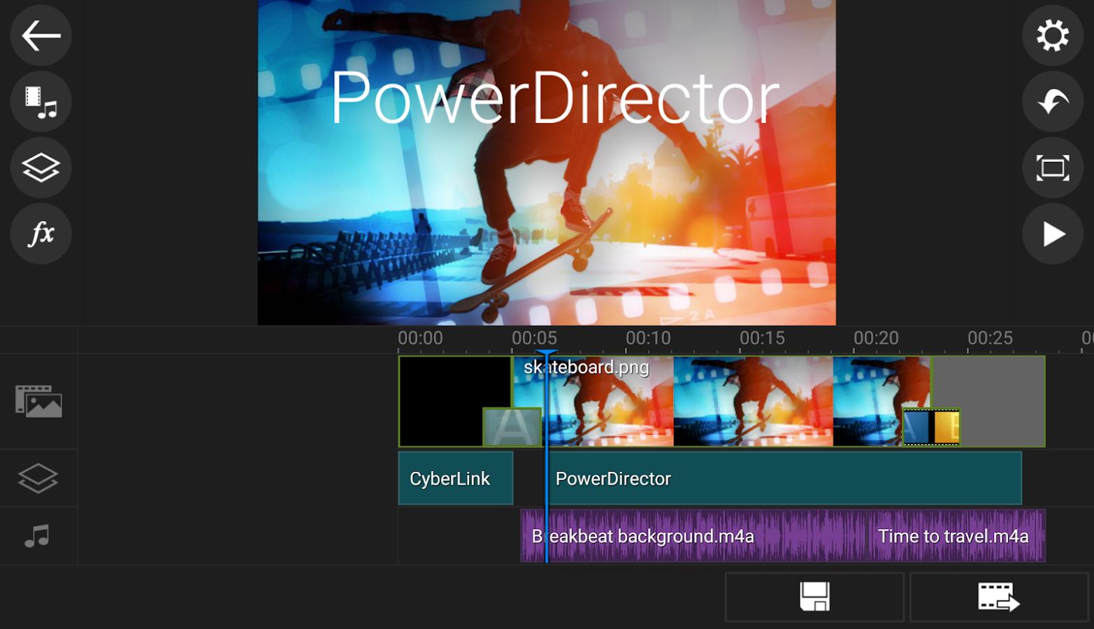 Image result for power director apk
