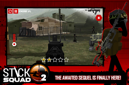 Stick Squad 2 - Shooting Elite 1.3.3 screenshot 1