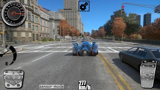 Driving The Batmobile 1.1 screenshot 3