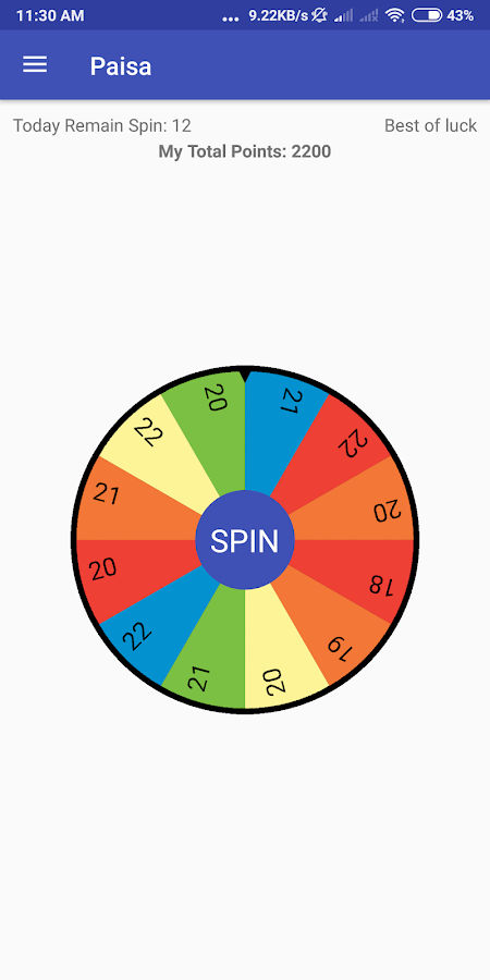 Earn From Spin Win Real Cash Up To 50k Rs 10 0 Apk Download Android Entertainment Apps