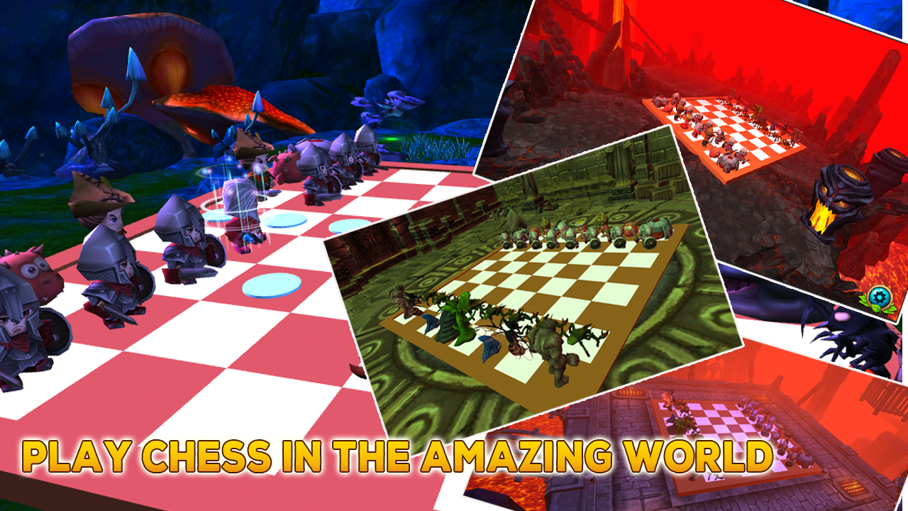Chess 3D Kingdoms - Chess Free 1 8 APK Download - Android Puzzle Games