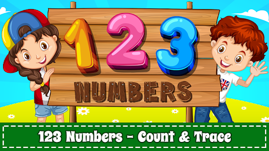 Learn Numbers 123 Kids Free Game - Count & Tracing 2.9 screenshot 1
