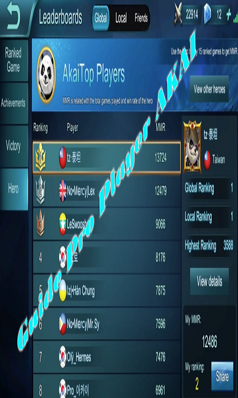 Pro Guide Akai For Mobile Legends: Bang bang 1 0 APK Download