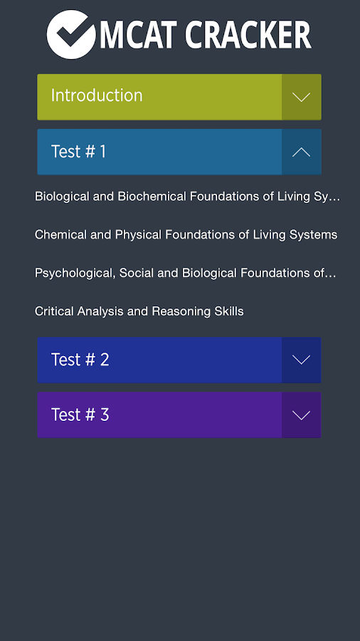 MCAT Cracker (Practice Tests) 1 0 APK Download - Android