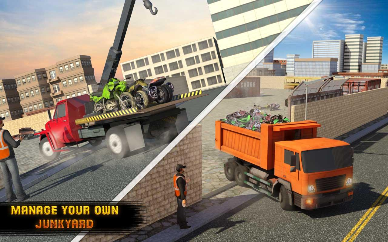 Old Car Junkyard Simulator Tow Truck Loader Games 1 1 Apk Download