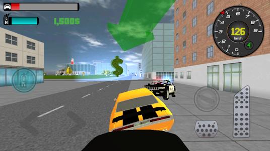 Liberty City: Police chase 3D 1.1 screenshot 4