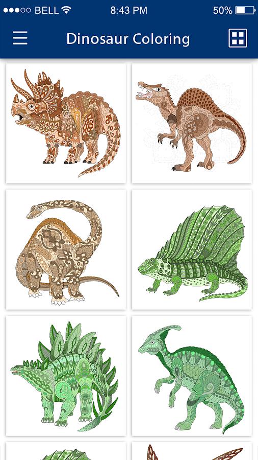 Dinosaur Colouring Games - Dinosaur Colouring Book 1.0 APK ...