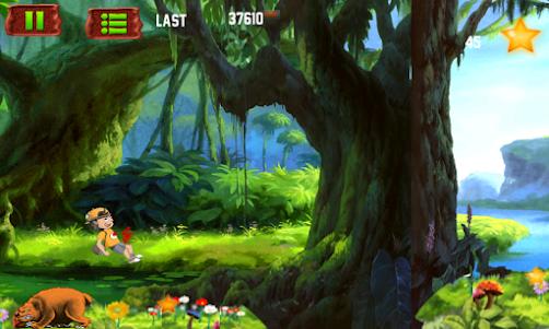 Amazing Jungle run 3.0 screenshot 8