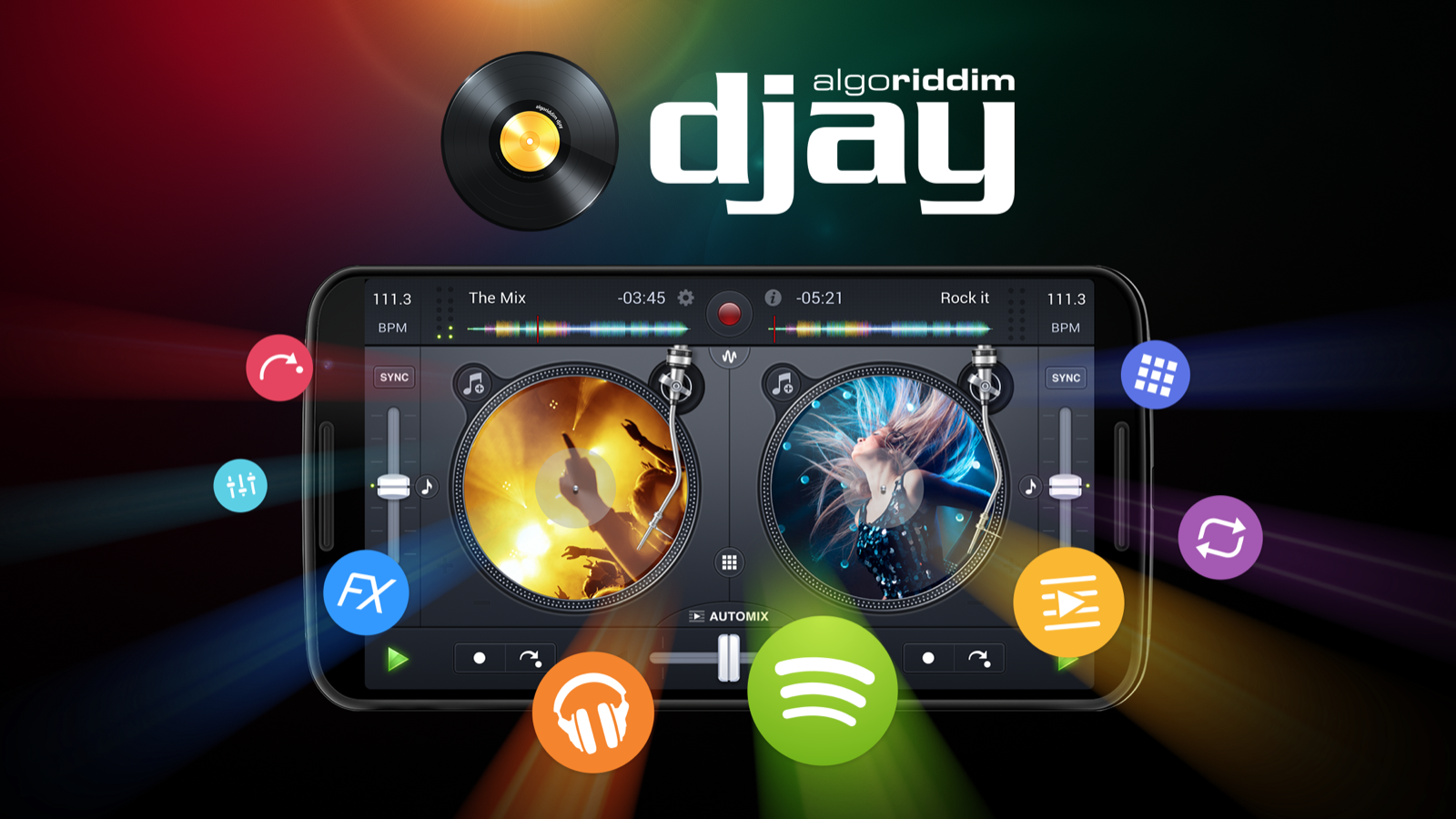 djay FREE - DJ Mix Remix Music 2 3 6 APK + OBB (Data File